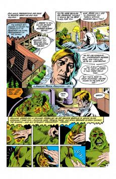 Extrait de Swamp Thing Vol.2 (DC comics - 1982) -5- (sans titre)