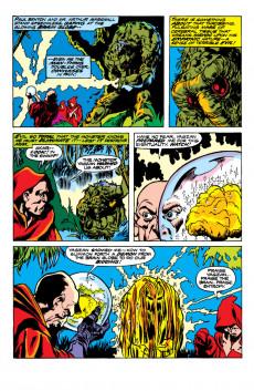 Extrait de Man-Thing (Giant Size) (Marvel - 1974) -1- The Glob Strikes Again!