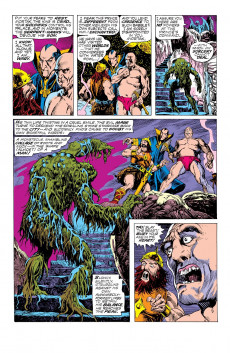Extrait de Man-Thing (Giant Size) (Marvel - 1974) -3- A world he never made!