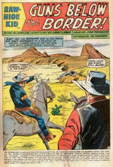 Extrait de Rawhide Kid Vol.1 (Atlas/Marvel - 1955) -90- Guns Below the Border!