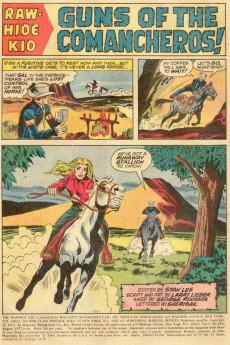 Extrait de Rawhide Kid Vol.1 (Atlas/Marvel - 1955) -102- Guns of the Comancheros!