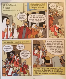 Extrait de La bible pour les enfants en BD