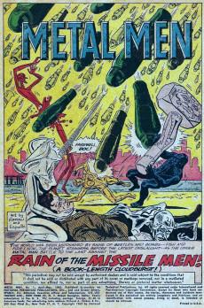 Extrait de Metal Men Vol.1 (DC Comics - 1963) -1- Rain of the Missile Men!