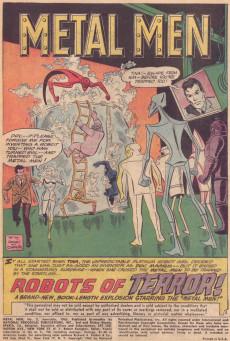 Extrait de Metal Men Vol.1 (DC Comics - 1963) -2- Robots of Terror!