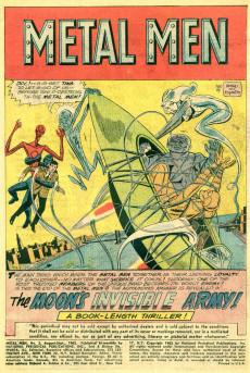 Extrait de Metal Men Vol.1 (DC Comics - 1963) -3- The Moon's Invisible Army!