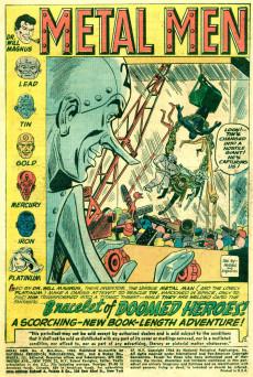 Extrait de Metal Men Vol.1 (DC Comics - 1963) -4- The Bracelet of Doomed Heroes!