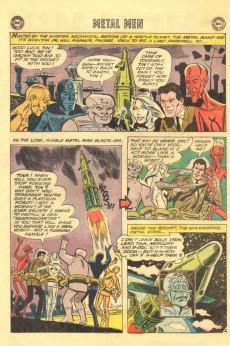 Extrait de Metal Men Vol.1 (DC Comics - 1963) -5- Menace of the Mammoth Robots!