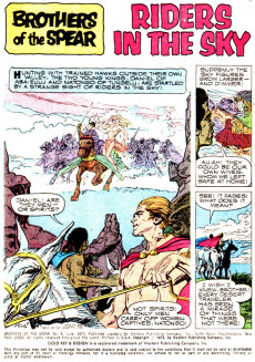 Extrait de Brothers of the Spear (Gold Key - 1972) -5- Riders in the Sky