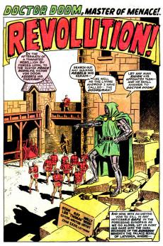 Extrait de Astonishing tales Vol.1 (Marvel - 1970) -2- Ka-Zar Battles Kraven! / Our Master of Menace--At the Mercy of the Doomsman!