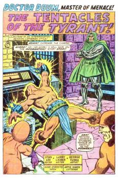Extrait de Astonishing tales Vol.1 (Marvel - 1970) -6- Beware the Man-God Men Call Damon!