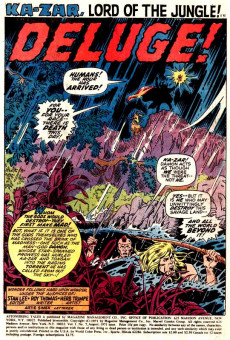 Extrait de Astonishing tales Vol.1 (Marvel - 1970) -7- ...And One Is Traitor!