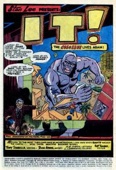 Extrait de Astonishing tales Vol.1 (Marvel - 1970) -21- It!
