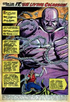 Extrait de Astonishing tales Vol.1 (Marvel - 1970) -22- It! : Granitor--Lord of the Gargoyles!
