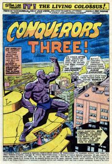Extrait de Astonishing tales Vol.1 (Marvel - 1970) -23- It! : To Destroy A World!