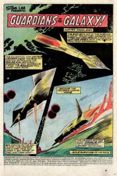 Extrait de Astonishing tales Vol.1 (Marvel - 1970) -29- Guardians of the Galaxy