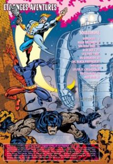 Extrait de Étranges aventures (3e Série - Organic Comix) -4- Black Panther Black & White