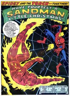 Extrait de Marvel Team-Up Vol.1 (Marvel comics - 1972) -1- And Now... the Sandman!