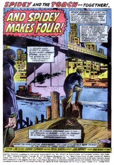 Extrait de Marvel Team-Up Vol.1 (Marvel comics - 1972) -2- Trapped by the Frightful Four!