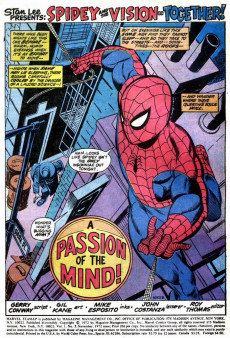 Extrait de Marvel Team-Up Vol.1 (Marvel comics - 1972) -5- The Menace of the Monstroid!