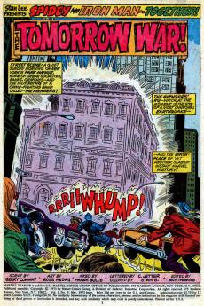 Extrait de Marvel Team-Up Vol.1 (Marvel comics - 1972) -9- The Tomorrow War!