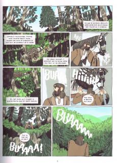 Extrait de Géante - Histoire de celle qui parcourut le monde à la recherche de la liberté
