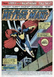 Extrait de Marvel Team-Up Vol.1 (Marvel comics - 1972) -33- Anybody Remember a Guy Named... Meteor Man!