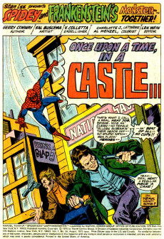 Extrait de Marvel Team-Up Vol.1 (Marvel comics - 1972) -36- Bedlam in the Balkans!