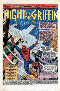 Extrait de Marvel Team-Up Vol.1 (Marvel comics - 1972) -38- The Claws of the Griffin!