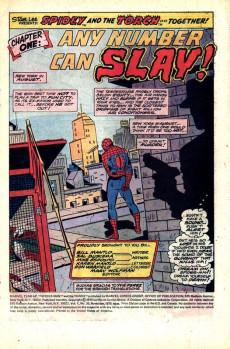 Extrait de Marvel Team-Up Vol.1 (Marvel comics - 1972) -39- Any Number Can Slay!