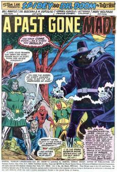Extrait de Marvel Team-Up Vol.1 (Marvel comics - 1972) -43- A Past Gone Mad!