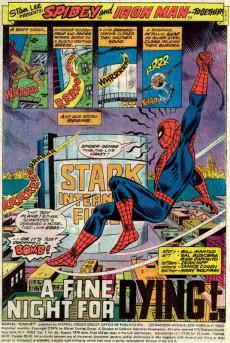 Extrait de Marvel Team-Up Vol.1 (Marvel comics - 1972) -48- A Fine Night for Dying!