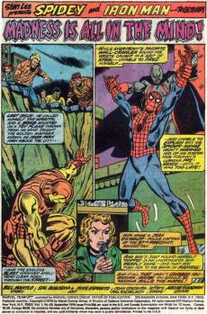 Extrait de Marvel Team-Up Vol.1 (Marvel comics - 1972) -49- Under the Power of the Wraith!