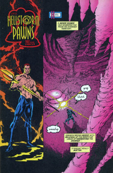 Extrait de Hellstorm: Prince of lies (Marvel comics - 1993) -4- Dark Shadows