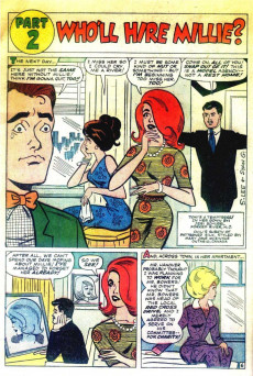 Extrait de Modeling with Millie (Marvel Comics - 1963) -24- Millie Gets Fired!