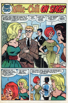 Extrait de Modeling with Millie (Marvel Comics - 1963) -27- The Fashion Show of the Year!