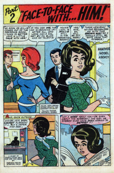 Extrait de Modeling with Millie (Marvel Comics - 1963) -28- The Many Faces of Millie!