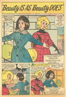 Extrait de Modeling with Millie (Marvel Comics - 1963) -29- Millie's Winter Festival