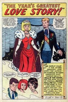 Extrait de Modeling with Millie (Marvel Comics - 1963) -36- The Greatest Love Story!
