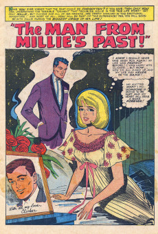 Extrait de Modeling with Millie (Marvel Comics - 1963) -41- The Man From Millie's Past!