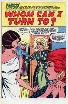 Extrait de Modeling with Millie (Marvel Comics - 1963) -44- Whom Can I Turn To?