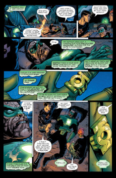 Extrait de Green Lantern: Rebirth (2004) -2- Enemies Within