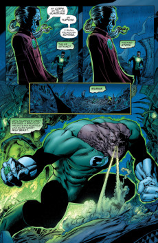 Extrait de Green Lantern: Rebirth (2004) -3- Yellow
