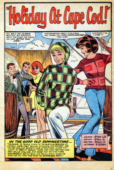 Extrait de Modeling with Millie (Marvel Comics - 1963) -47- Holiday at Cape Cod!