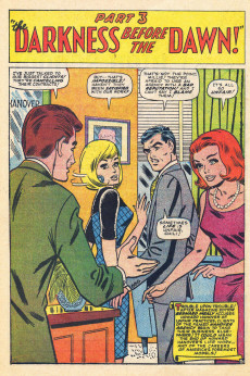 Extrait de Modeling with Millie (Marvel Comics - 1963) -48- Crisis at the Hanover Agency!