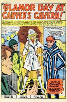 Extrait de Modeling with Millie (Marvel Comics - 1963) -49- Glamor Day at Carver's Cavern!