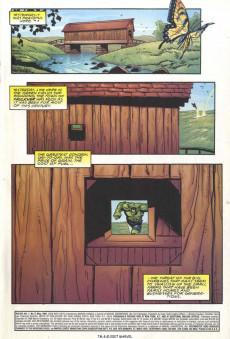 Extrait de Hulk Vol.1 (Marvel comics - 1999) -2- holocaust in the heart land!