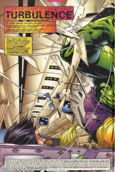 Extrait de Hulk Vol.1 (Marvel comics - 1999) -4- Turbulence