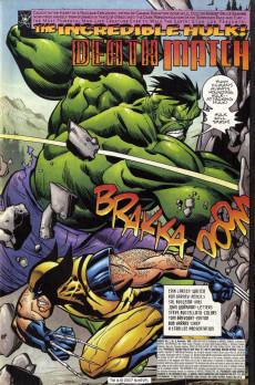 Extrait de Hulk Vol.1 (Marvel comics - 1999) -8- Death Match