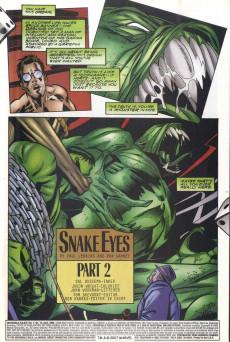 Extrait de Incredible Hulk (The) (Marvel comics - 2000) -13- Snake Eyes, Part 2
