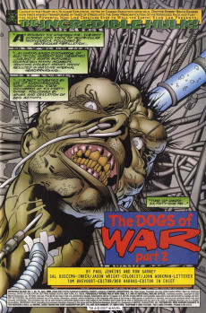 Extrait de Incredible Hulk (The) (Marvel comics - 2000) -15- The Dogs Of War, Part 2